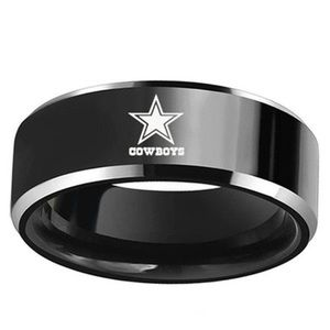 Other - Men's Titanium and Stainless Steel Ring Cowboys
